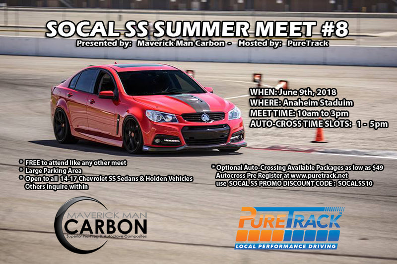 "It's that time of year again to say ""SS What""? at the SoCal SS Summer Meet #8 & Autocross"