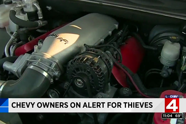 The Chevy Trailblazer SS is one hot item for car thieves