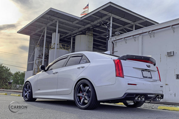 What Does Cts Stand For >> Carbon Fiber Spoiler w/ Wickerbill for the Cadillac ATS-V ...
