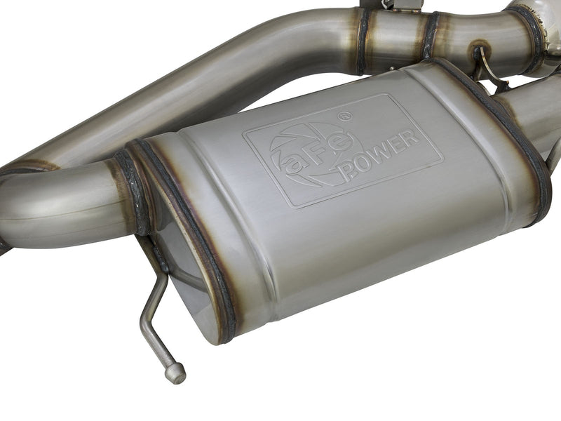 Cadillac ATS-V MACH Force-Xp 3 inch 304 Stainless Steel Cat-Back Exhaust System - FREE SHIPPING