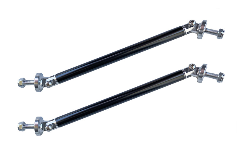 Splitter Suppprt Rods with 11mm Black Sleave w/Machined Ends