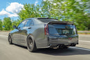 Carbon Fiber Spoiler w/ Wickerbill for the Cadillac ATS-V Sedan and Coupe
