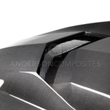 2016 - 2018 Camaro Type-AZ Double Sided Carbon Fiber hood