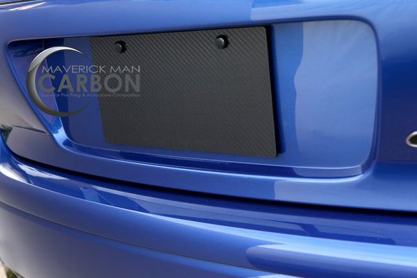 Carbon Fiber License Plate – Maverick Man Carbon