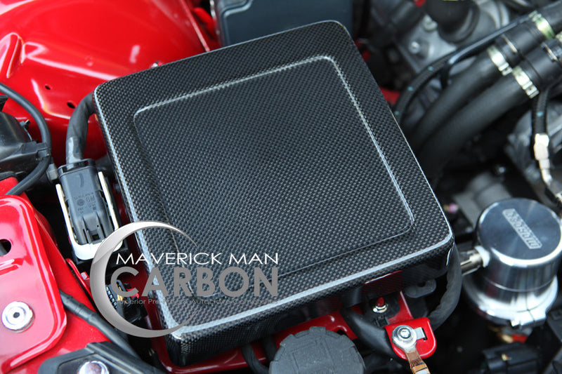 Chevy SS Carbon Fiber Fuse Box Cover