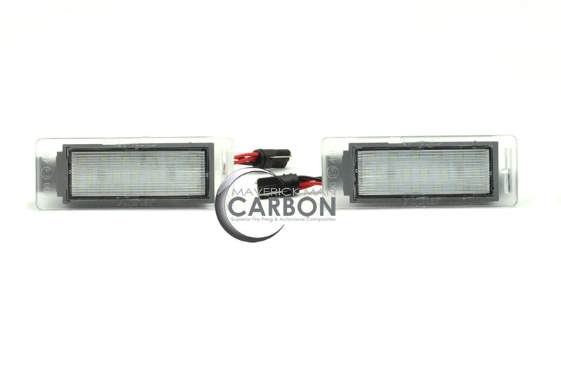 Chevy SS Custom 18-LED License Plate Lights with Housing