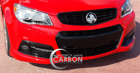 Genuine Holden Black Blackout Trim Kit for the Chevy SS