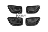 Chevy SS Sedan Carbon Fiber Seat Decor Trim Covers