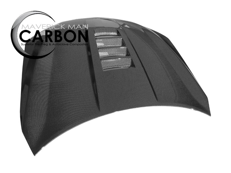 Chevy SS Sedan Carbon Fiber Vented Hood