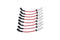 Trailblazer SS Edelbrock Max-Fire Ultra-Spark 50 Spark Plug Wire Sets