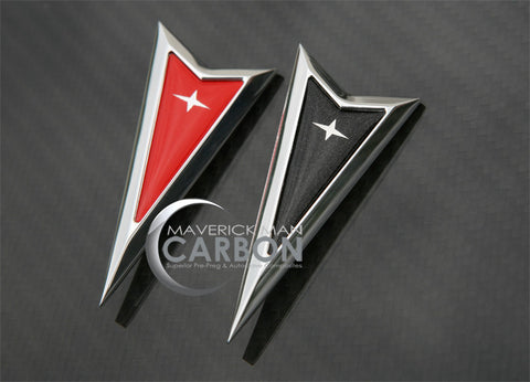 Billet Arrowheads In Real Carbon Fiber and Matching Factory Colors For your GTO