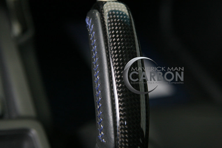 GTO Carbon Fiber Hand Brake with Button