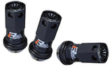 KICS R40 ICONIX Racing Lug Nuts and Locks with Color Caps for your GTO Aftermarket Wheels