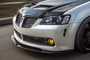 G8 Carbon Fiber Front Bumper FULL Wind Splitter