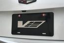 "Cadillac ""V"" Aluminum Laser Engraved Display License Plate"