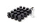 Vanadium Corrosion Resistance Black Lug Nuts
