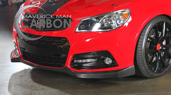 Chevy Ss Carbon Fiber Front Lip Deposit Only Maverick