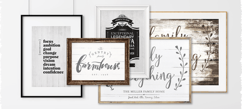Framing Your Personalized Prints