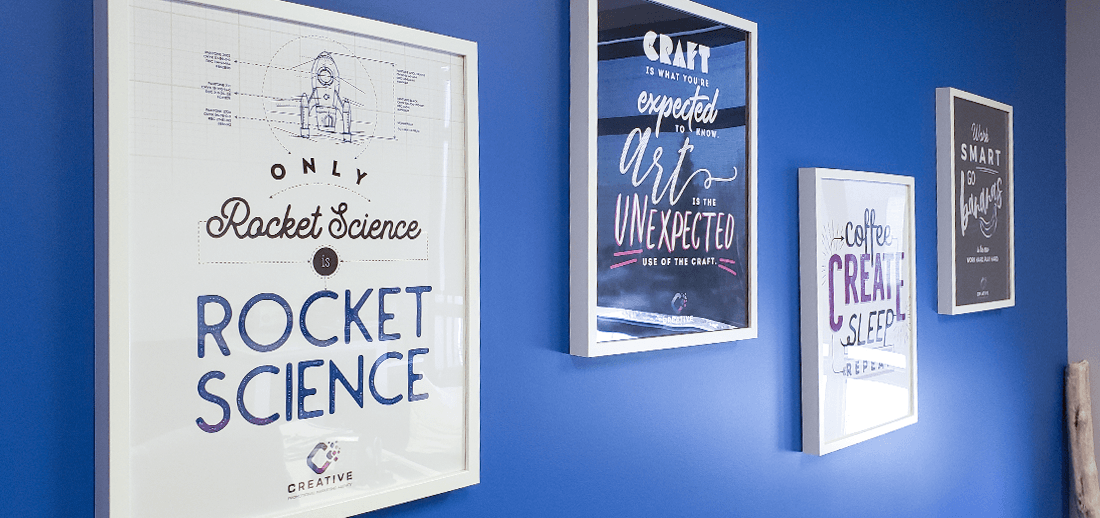 examples of inspirational and fun custom prints made a company