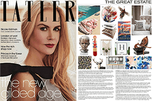 Featured in July 2018 Issue of Tatler Magazine