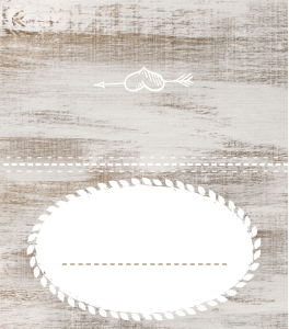 preview of the free printable Thanksgiving name tent card