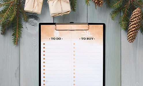 Holiday To Do and To Buy List FREE Printable - Download, print and stay organized!