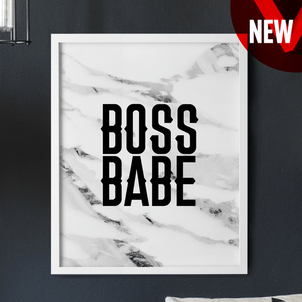 Boss Babe poster