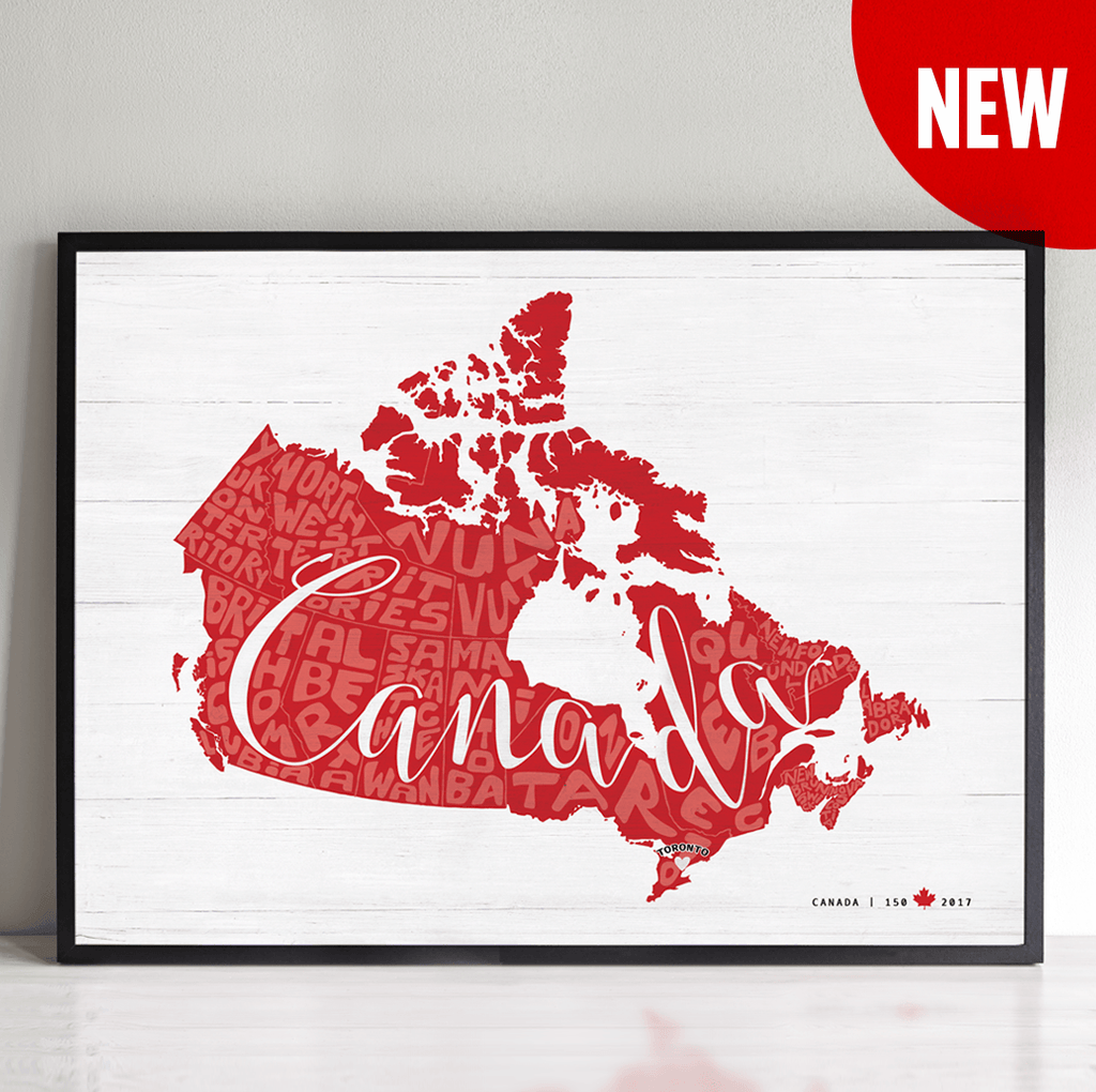 Any Place Canada Personalized Print