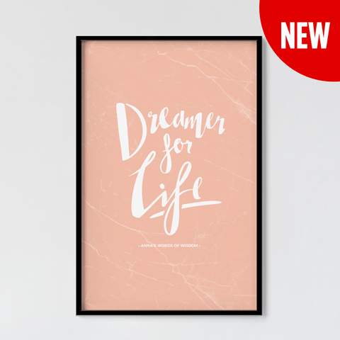 Dreamer Personalized Print