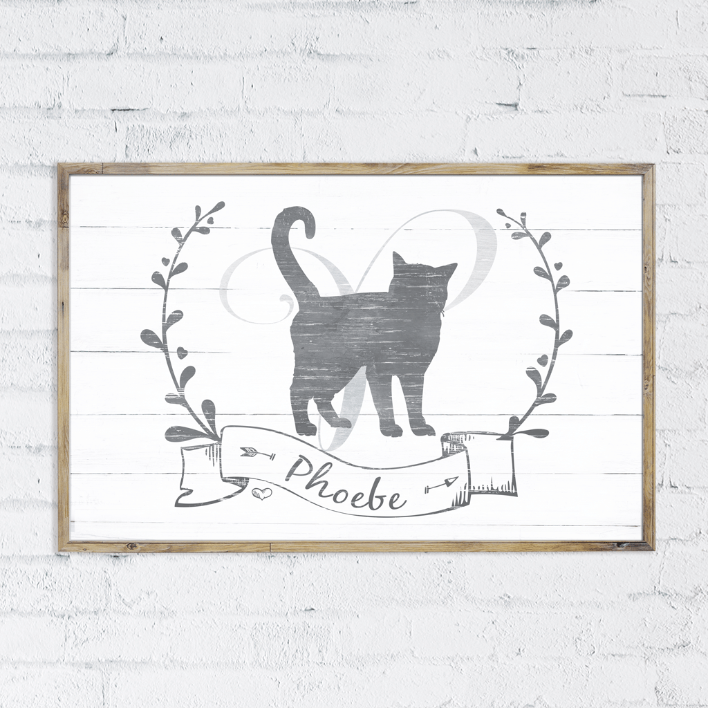 Kitty Kat personalized print