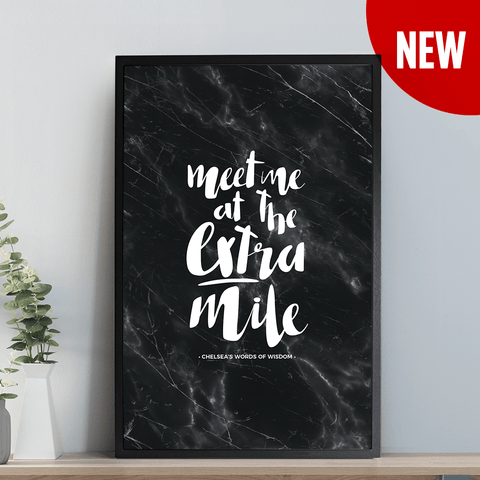 Meet Me Personalized Print