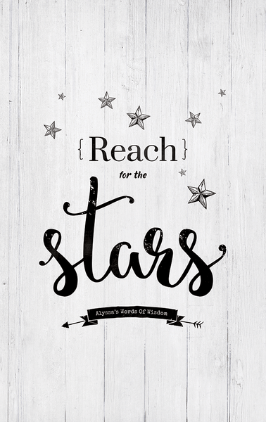 close up preview of the Reach For The Stars print