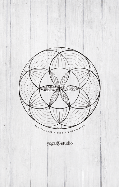 Seed Of Life - Yoga Studio Edition