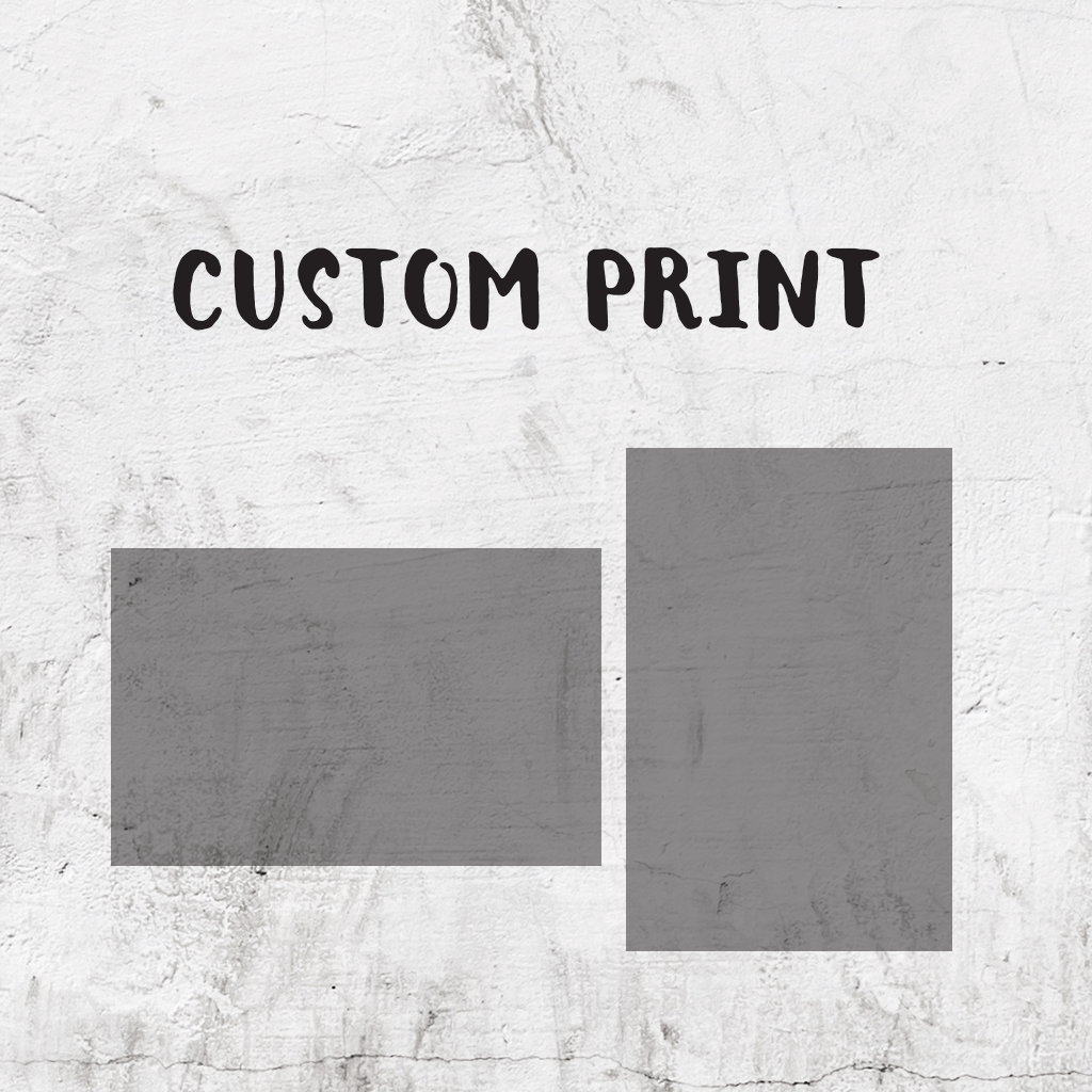 Set In Stone - Custom Print