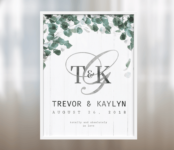 Totally and Absolutely Personalized Wedding print
