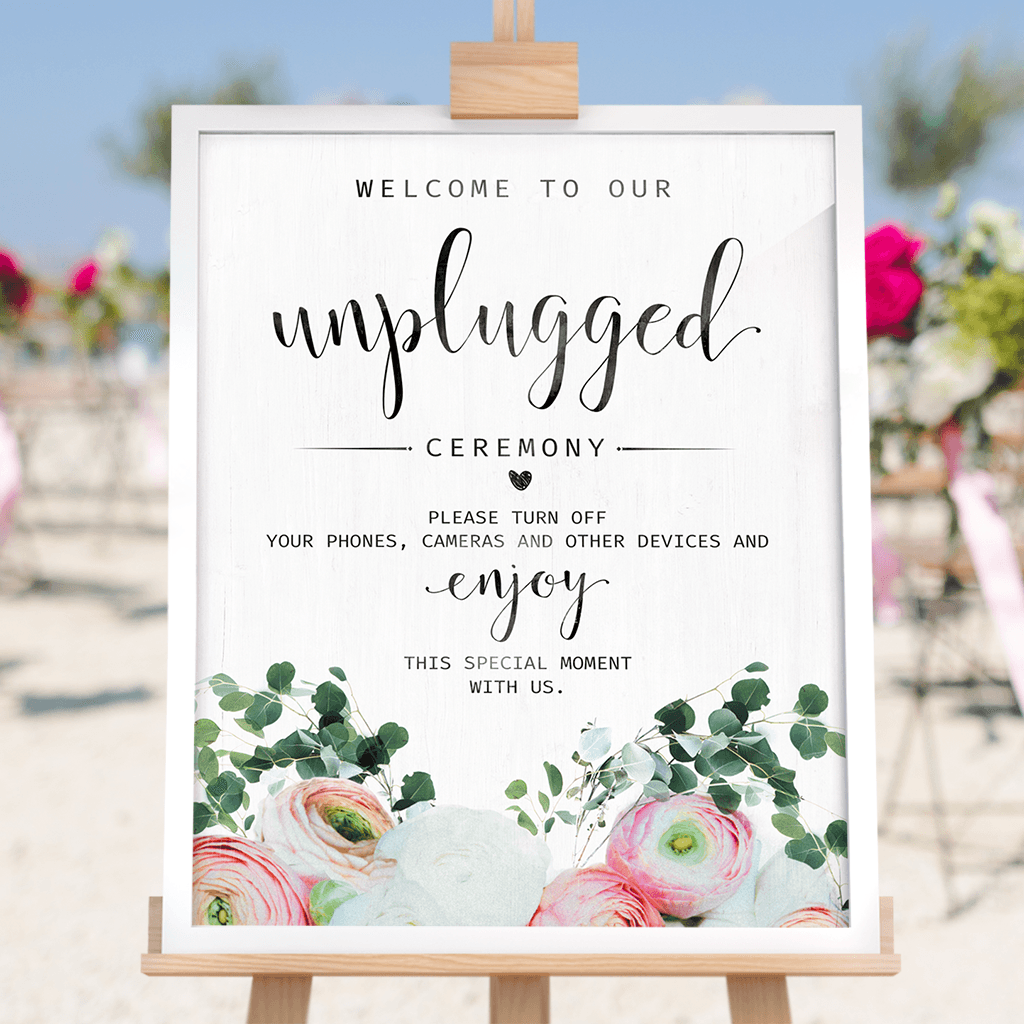 Unplugged Ceremony - Bouquet print