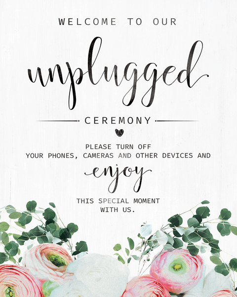 preview of the Unplugged Ceremony Bouquet print
