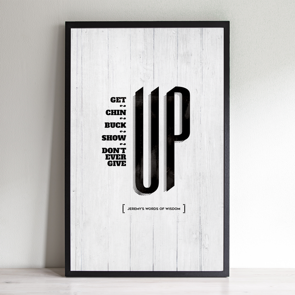 Up personalized print