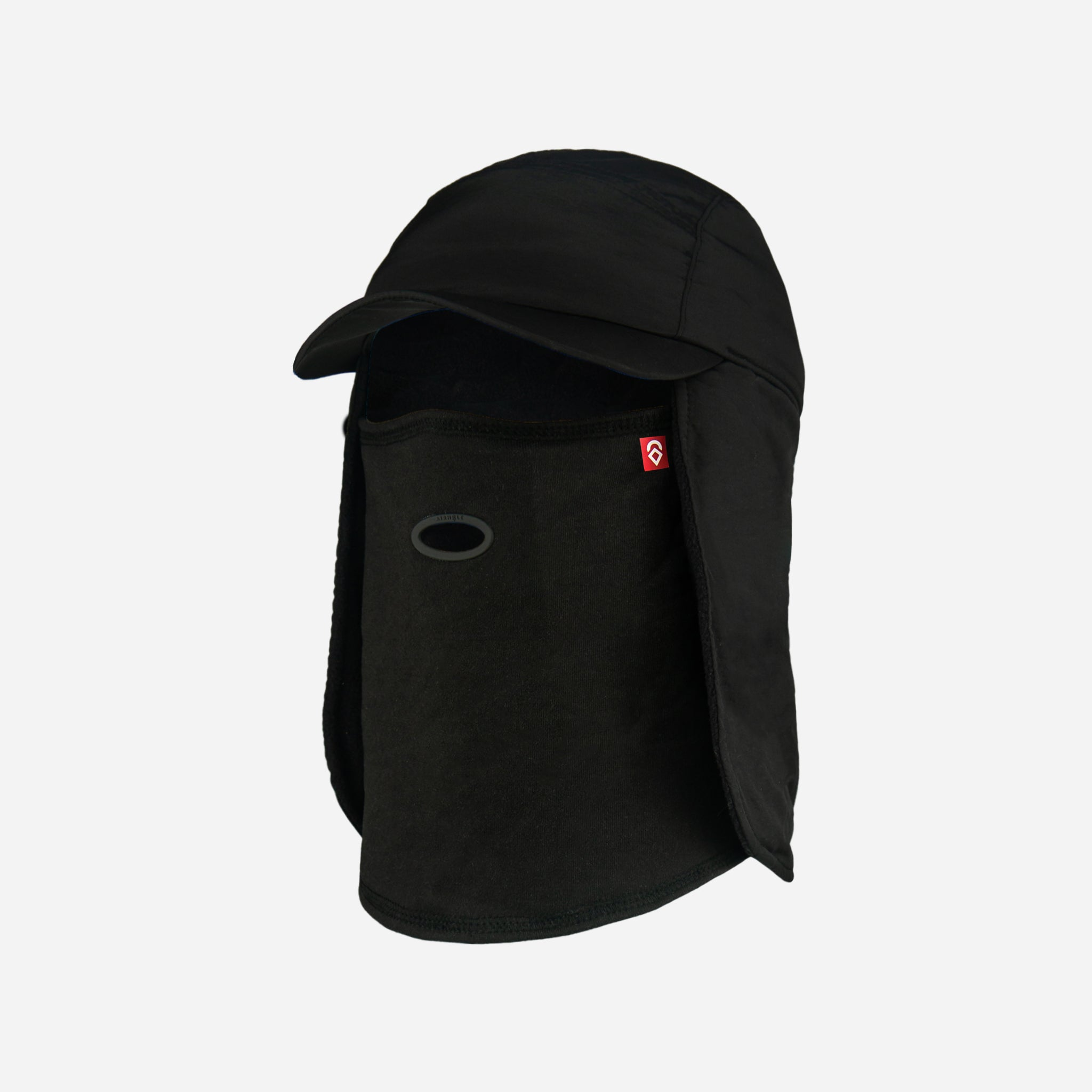 5 Panel Tech Hat Polar Black