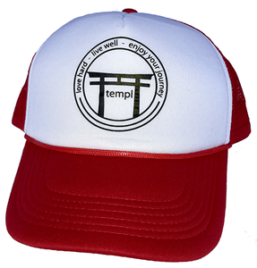 Love Live Enjoy Trucket Hat Red