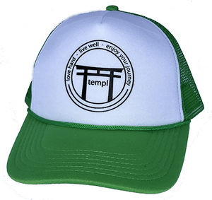 Love Live Enjoy Trucket Hat Green
