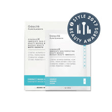 Synergie[4] Immediate Skin Perfecting Beauty Masque Sachet Box, presentación para viaje