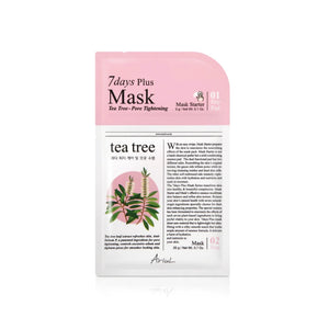 7days PLUS Mask Tea Tree, mascarilla Plus de árbol de té