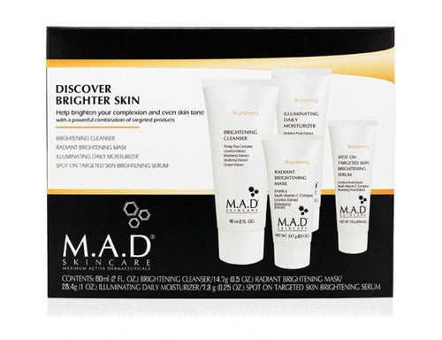 Discover Brighter Skin. Incluye 4 productos