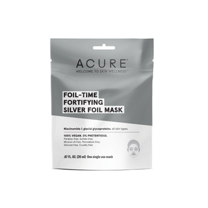 Foil-Time Fortifying Silver Foil Mask, mascarilla de plata antiedad y desinflamatoria