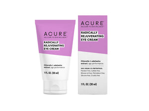 Acure. Radically Rejuvenating Eye Cream, contorno de ojos antiedad. 30 ml