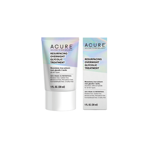 Resurfacing Overnight Glycolic Treatment, crema de noche