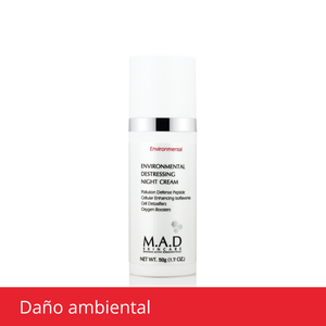 Environmental Destressing Night Cream, crema nocturna humectante.
