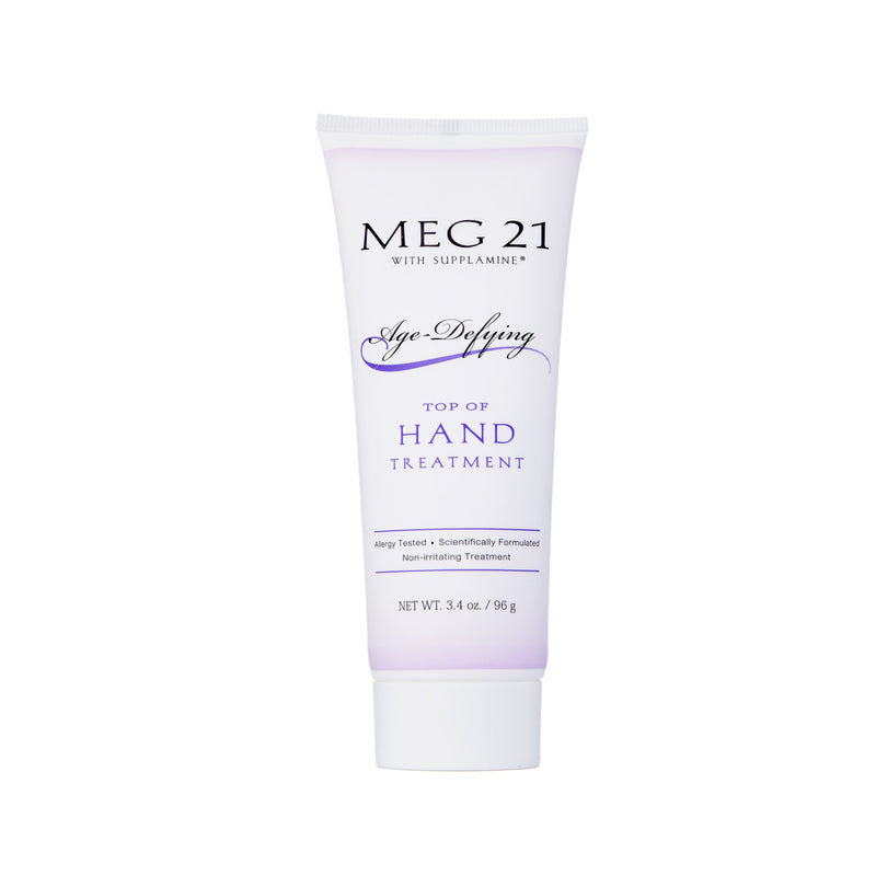MEG 21. Hand Treatment, crema rejuvenecedora de manos con Supplamine. 96 gr