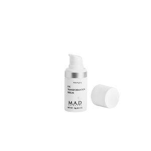 Eye Transformation Serum, hidratante y antiedad para el contorno de ojos.